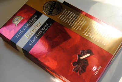 Icewine Dark Chocolates