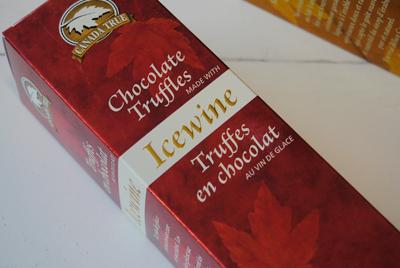 Icewine Chocolate Truffles
