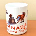 Canada Gift Mug Bone China Large Maple Syrup design 3