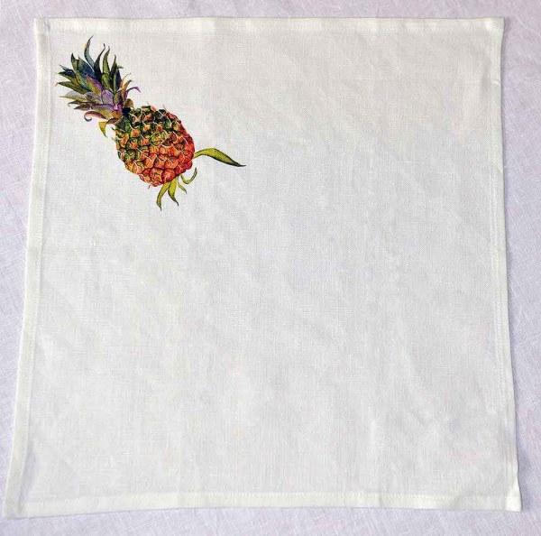 Napkins Pineapple Linen square