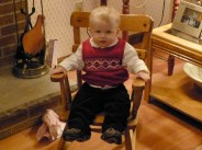 Jamie investigates the rocking chair given to Nana by her grandfather