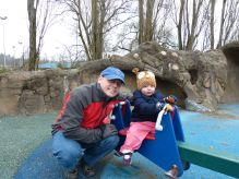 On the see-saw with Daddy