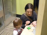 Audrey learns how to make a mean sandwich from Aunt Jen