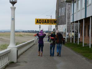 Headed to the Aquarium