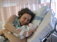 Mama meets Jamie for the first time.
