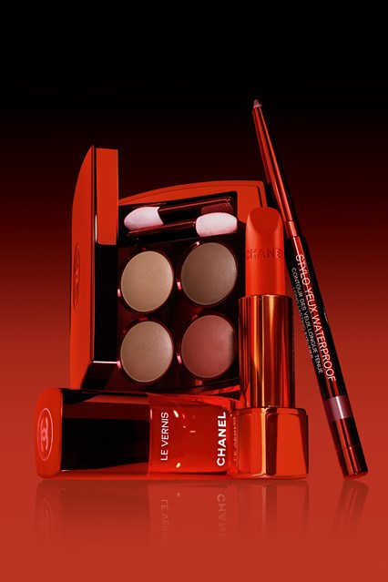 chanel-le-rouge-makeup