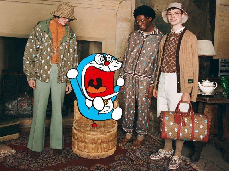 Gucci   Chinese New Year, Doraemon