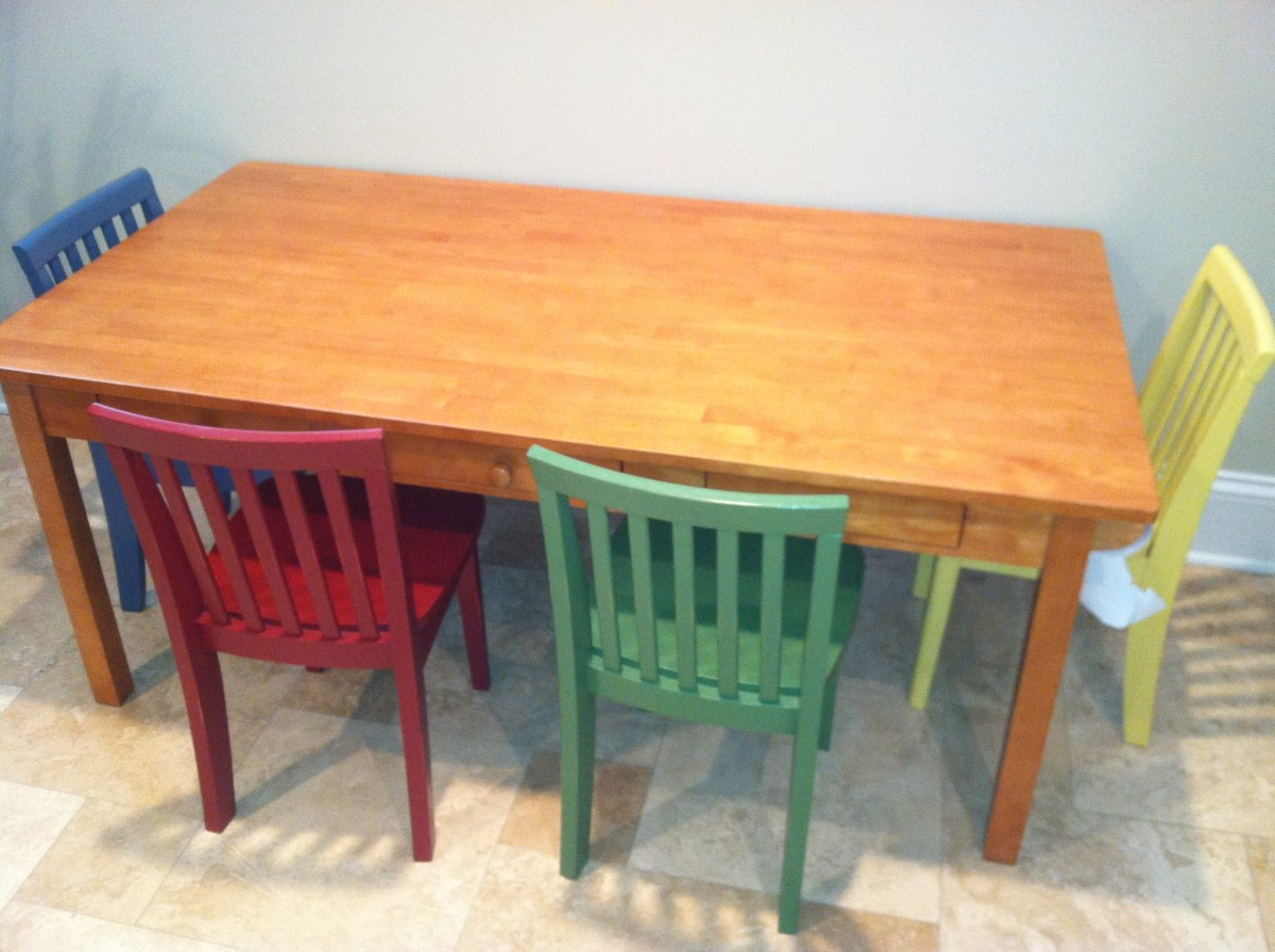 Child's Table And Chairs Pottery Barn Kids Carolina Craft Table And 4 Chairs 150