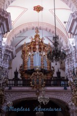 Organ in the cathedral