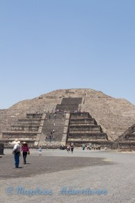 Pyramid of the Moon.
