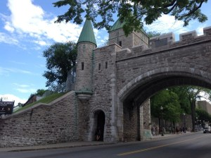 Walled city of Québec