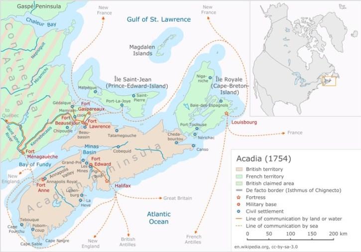 Acadia (1754)  by Klaus Mueller