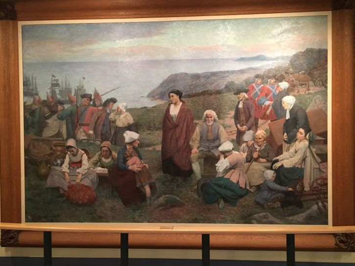 The Deportation of the Acadiens