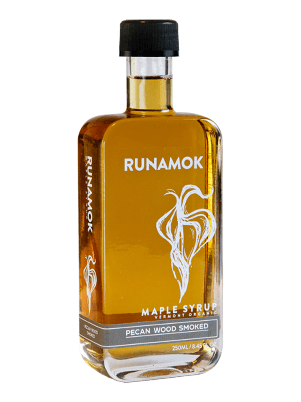 Runamok Pecan Wood Smoked Maple Syrup