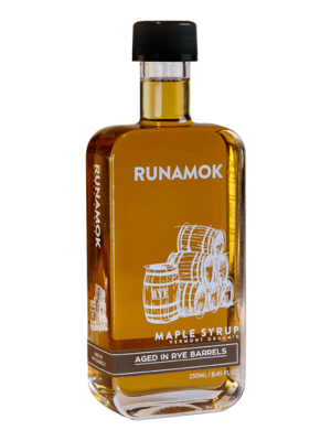 Runamok Rye Barrel-aged Maple Syrup