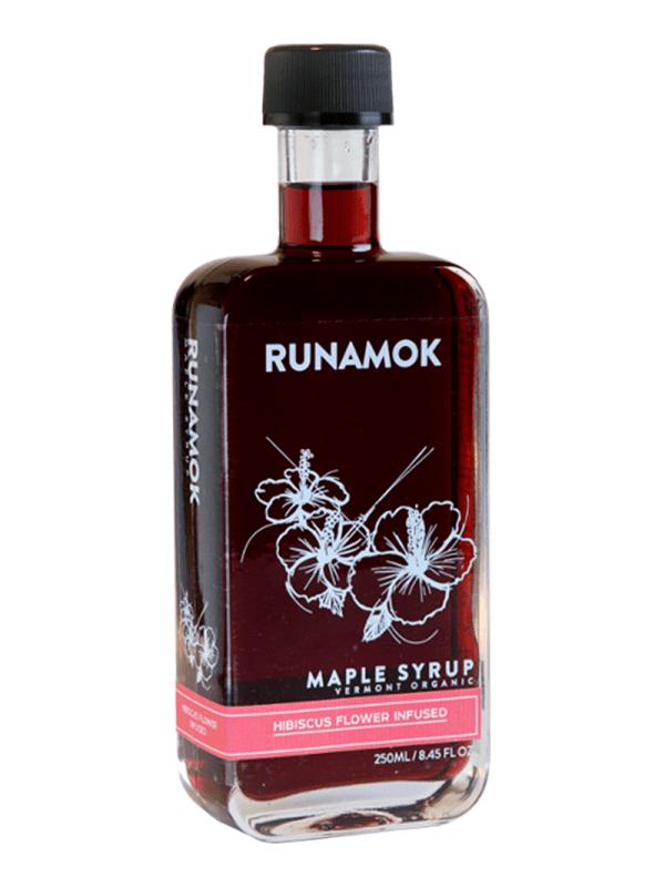 Runamok Hibiscus Ahornsirup Aromatisiert