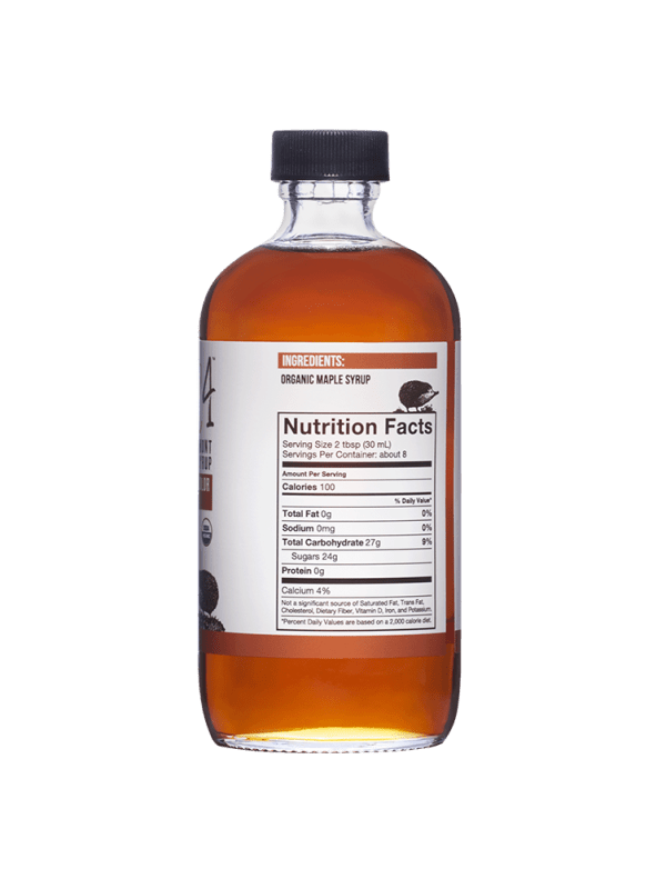 Wild4 Pure Maple Syrup Nutrition