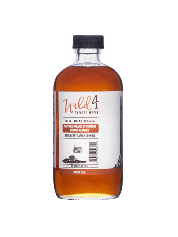 Wild4 Pure Maple Syrup Side