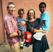 Cooperative Founder & President Cecil with his family.