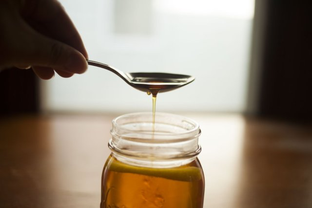 Adding Maple Syrup