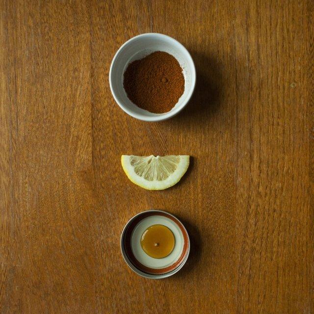Cayenne, Lemon, Maple Syrup