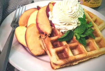 Maple Spice Waffles