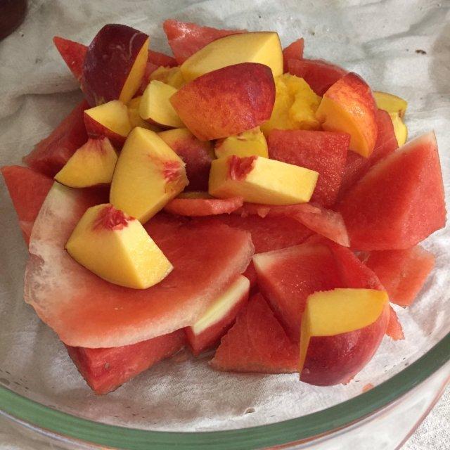 Fruit ready to freeze