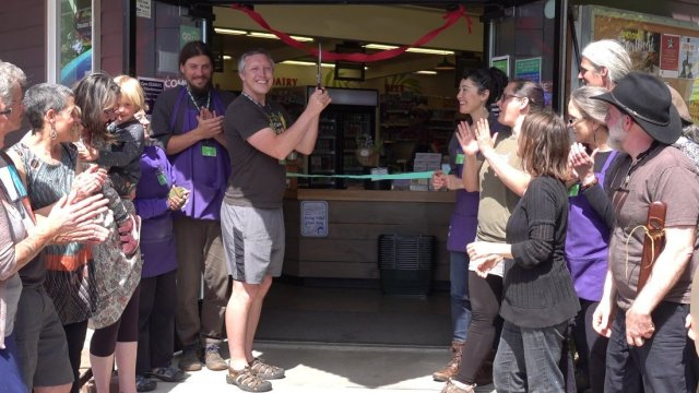 Orcas Food Co-op's 5-Year Anniversary commemorating the next 5 years together!