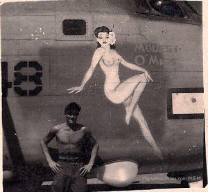 #59448, PB4Y-2, Squadron VPB-118, Artist Hal Olsen.