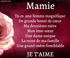 Texte Pour Sa Grand Mere Décédé : texte, grand, décédé, Message, Mamie, Anniversaire, Bonne, Fête
