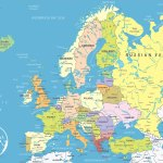 Europe Political Map Map Of Europe Europe Map