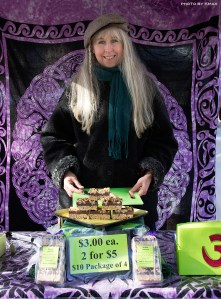 Arial at the Saturday Market, Salt Spring Island BC