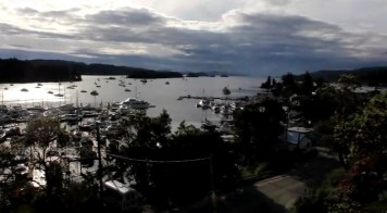 Ganges Harbour from Mariners Loft