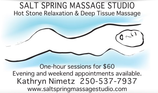Deep Tissue and Hot Stone Massage on Salt Spring Island
