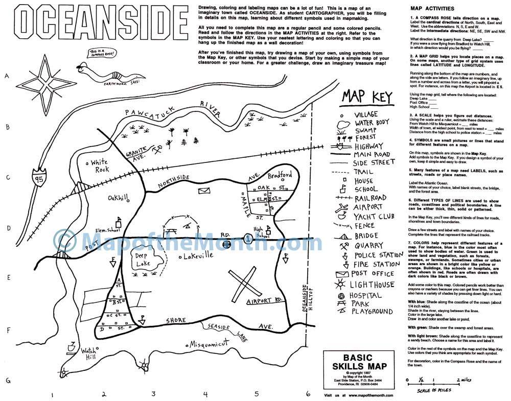 1st Grade Lesson Maps