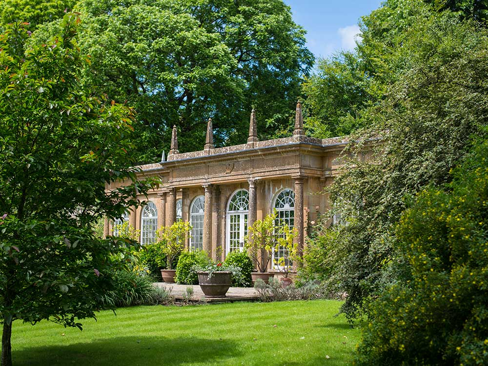 The Orangery at Mapperton - Dorset wedding venue
