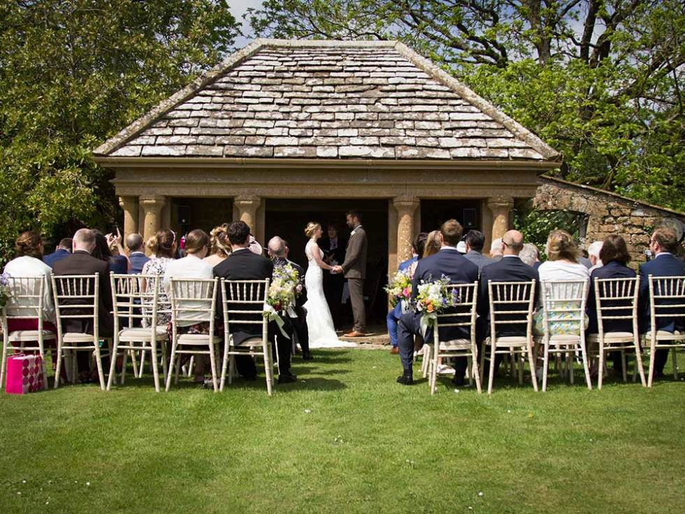 Mapperton Garden Pavilion - Dorset wedding venue