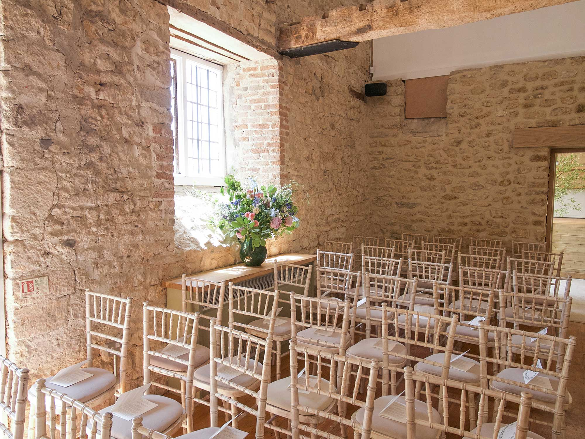 Seating in The Coach House
