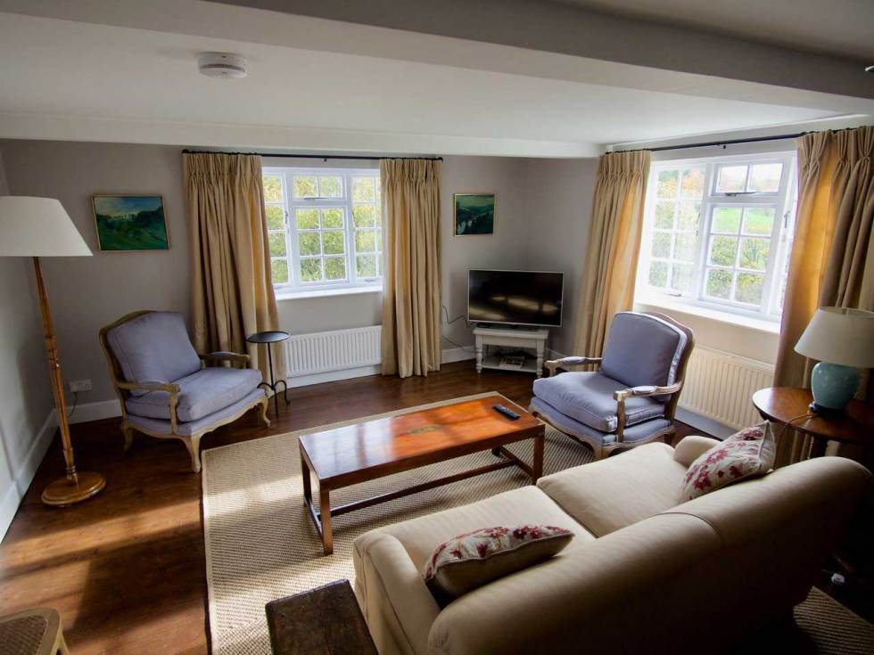 The Garden Cottage Interior Living Space - wedding accommodation in Dorset