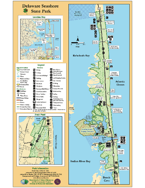 First Landing State Park Map Pdf : first, landing, state, Collection, Mappery