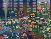 Las Vegas Strip Map - Nv Mappery