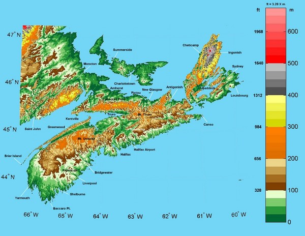 Egregious elevation map 2