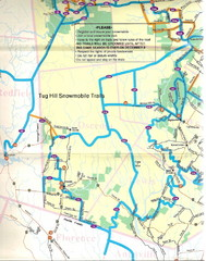 Tug Hill Snowmobile Trail Map : snowmobile, trail, Collection, Mappery