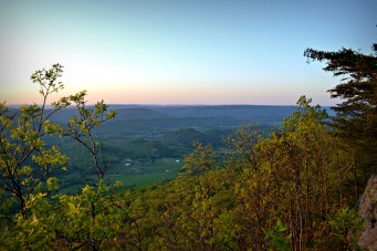 view north toward Chattanooga