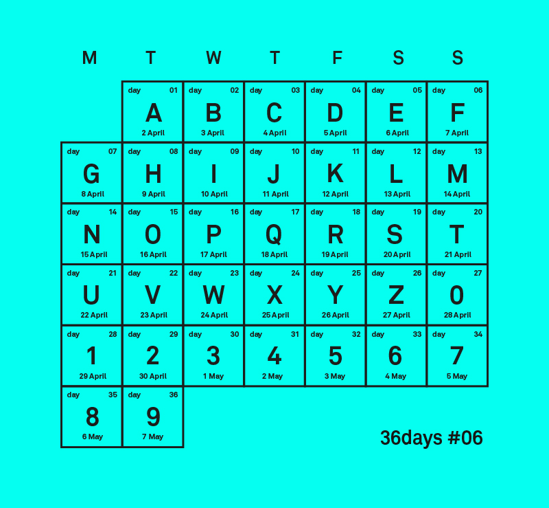 calendrier_36_days_of_type_2019