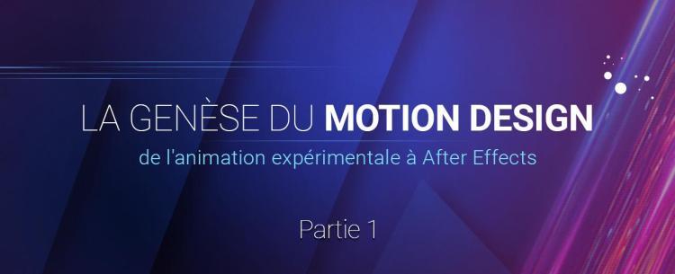 L'histoire du motion design