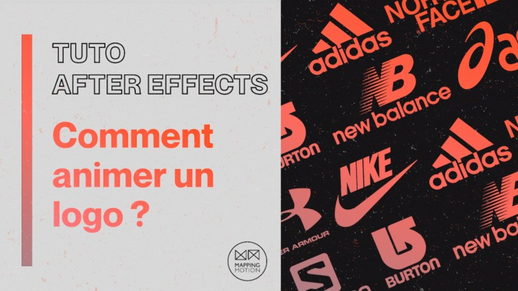 Comment animer un logo avec After Effects ? - Mapping Motion