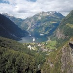 Hotel Union on the Geirangerfjord in Norway