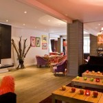 Hotel Ormelune: bright colors, funky chic adorn luxury boutique hotel in Val d'Isere