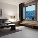 Rocksresort: minimalist chic ski apartments in Laax, Switzerland